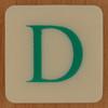 DOUBLE QUICK! letter D