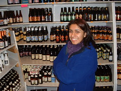 Monica in Beer Shop