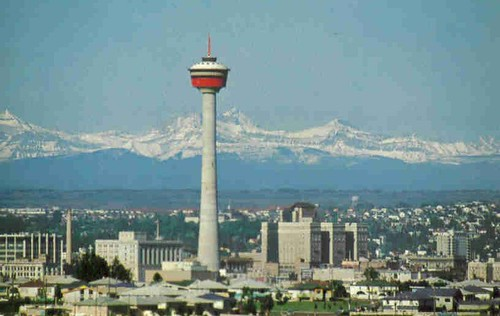 Calgary Tower (early picture)