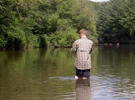 Probably Too Warm For Trout if You Can Wear Shorts in the River