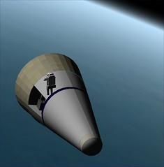 DH-1 in Orbit with EMU1