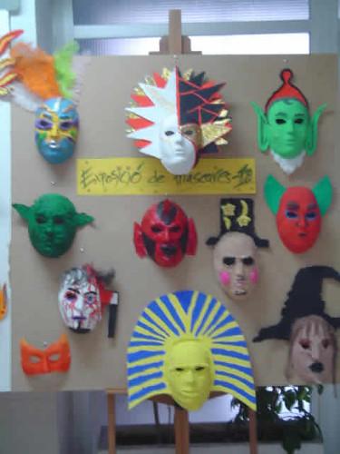 panel de máscaras
