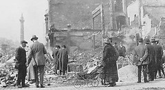 Dublin after the Rising when the Brits blasted the city to pieces
