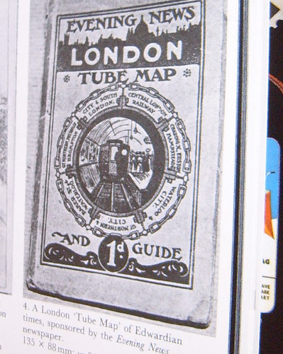 Edwardian Tube Map cover