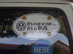 it's not a car.. it's a BUS