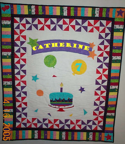 The birthday quilt