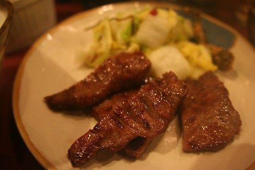 Grilled oxtongue