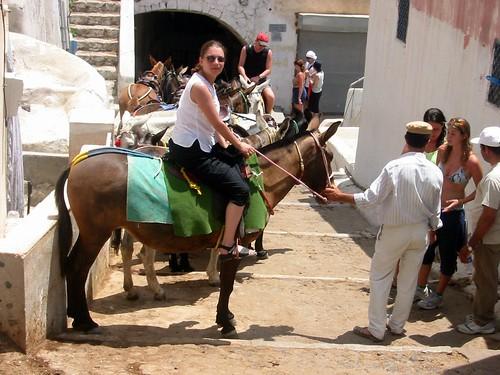 Me on donkey