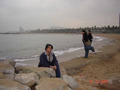 Pantai Barceloneta, Barcelona, Spain