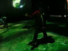 テプコ地球館 地球の上で歌ってます