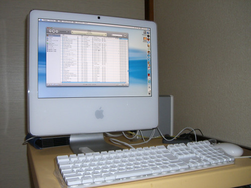 iMacのマッテルたん