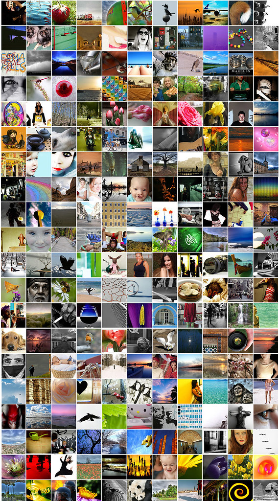 Flickr, la millionième image
