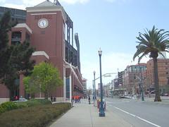 SBC Ballpark - Embacadero Seite