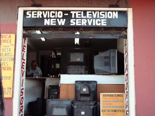 servicio televisión / nuevo servicio
