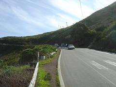 Weg zum Fort