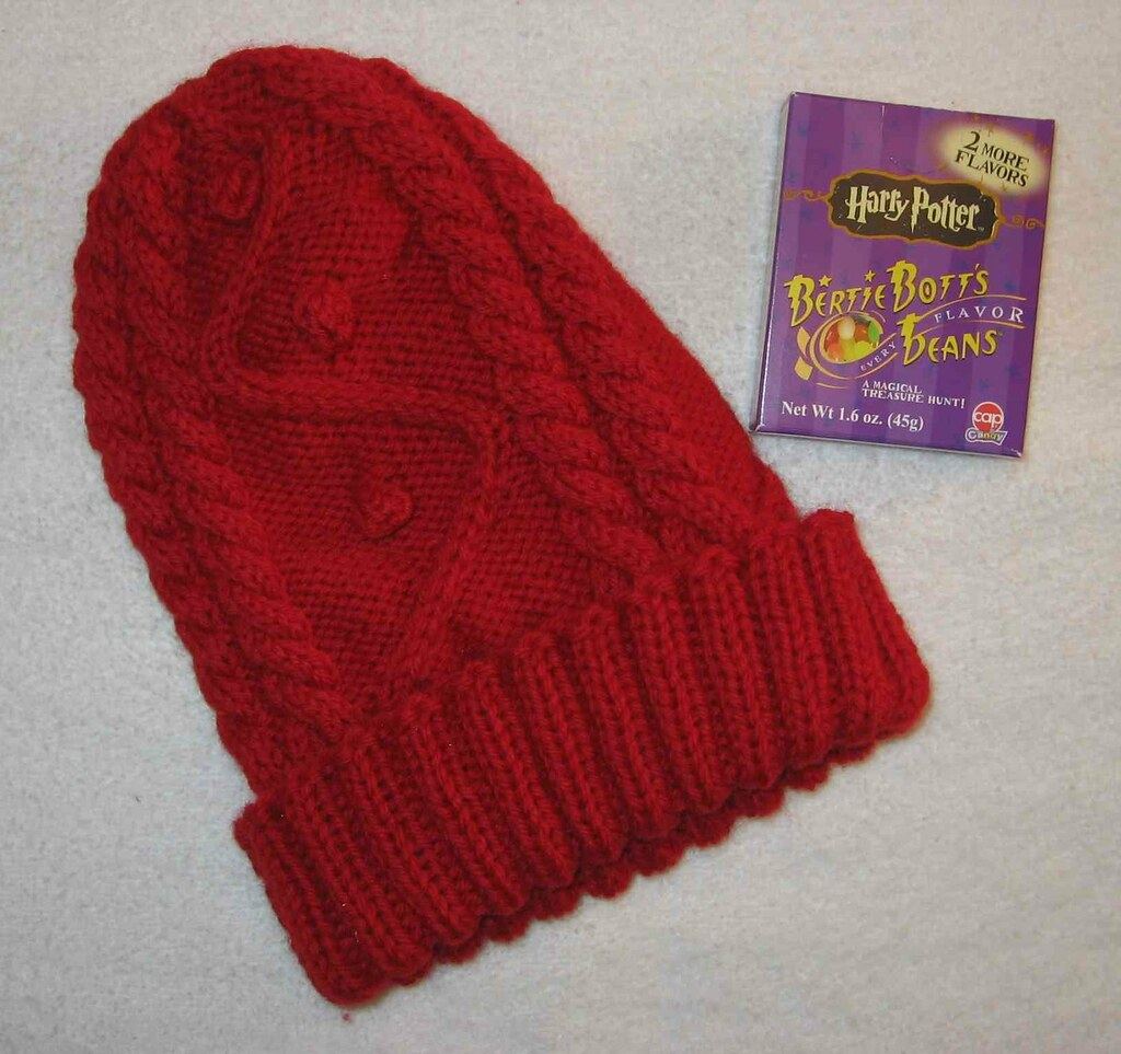 Lumos! Hermione hat with flash