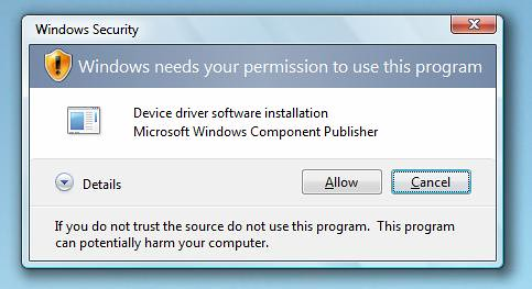how to turn off permissions on windows 7