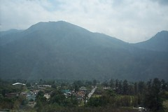 mountains on the road 2