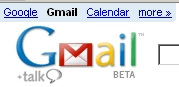 Gmail Beta Talk Calendar