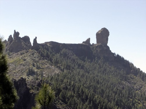 Roque Nublo and the Monk