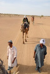 Camel Guides 3, Jaisalmer, Rajasthan, India Captured April 12, 2006.