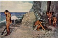 Postcard: Field Museum Neanderthals