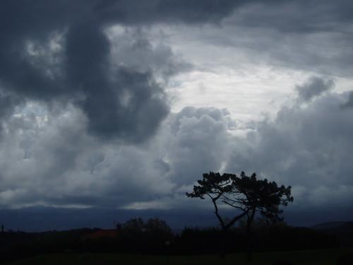 tarde de tormenta