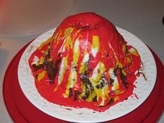 Photo of Volcano Cake for Brit Blakney