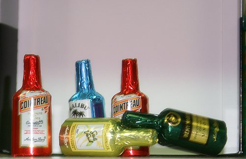 Liquor filled chocolate bottles food travel recipe sights liquor filled chocolate bottles forumfinder Image collections