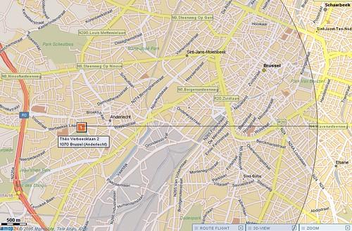 5km rond stadion van Anderlecht
