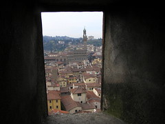 View of Palazzo Vecchio from Duomo