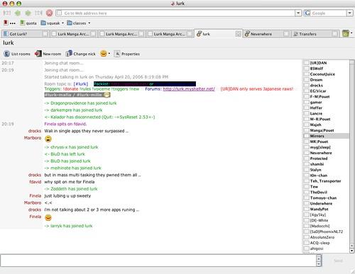 Chat on opera