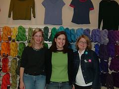 Ann, Jen and Kay