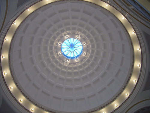 Rotunda illuminated