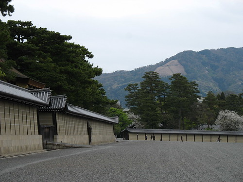 Kyoto - Park, Imperial Palace - zid