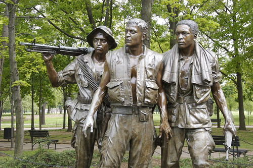 Vietnam War Memorial - The Three Soldiers or The Three Servicemen