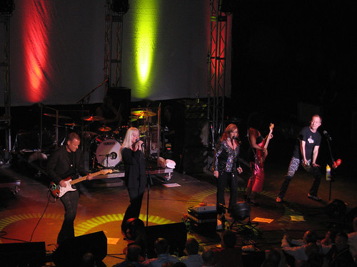 B-52s play at Motorola iRadio party @ NCTA