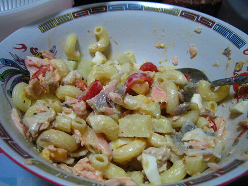 macaroni potato salad