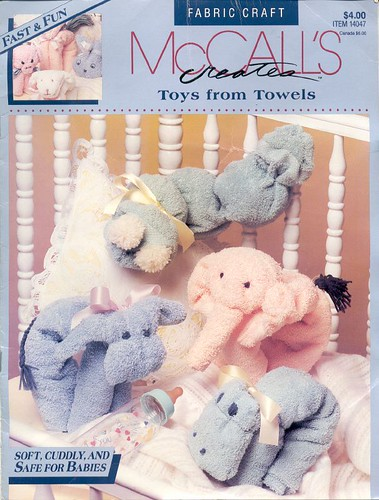 Toys From Towels Booklet