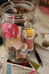 Jar of threads