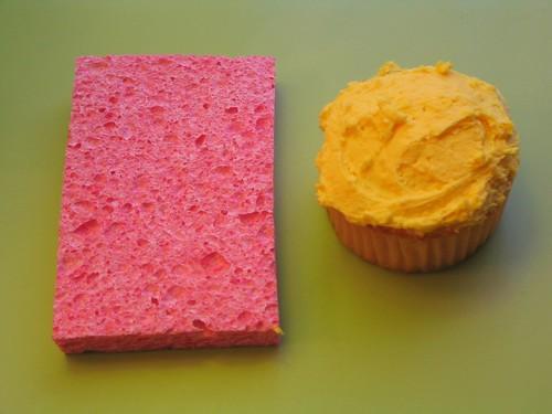 sponge cake (for groc)