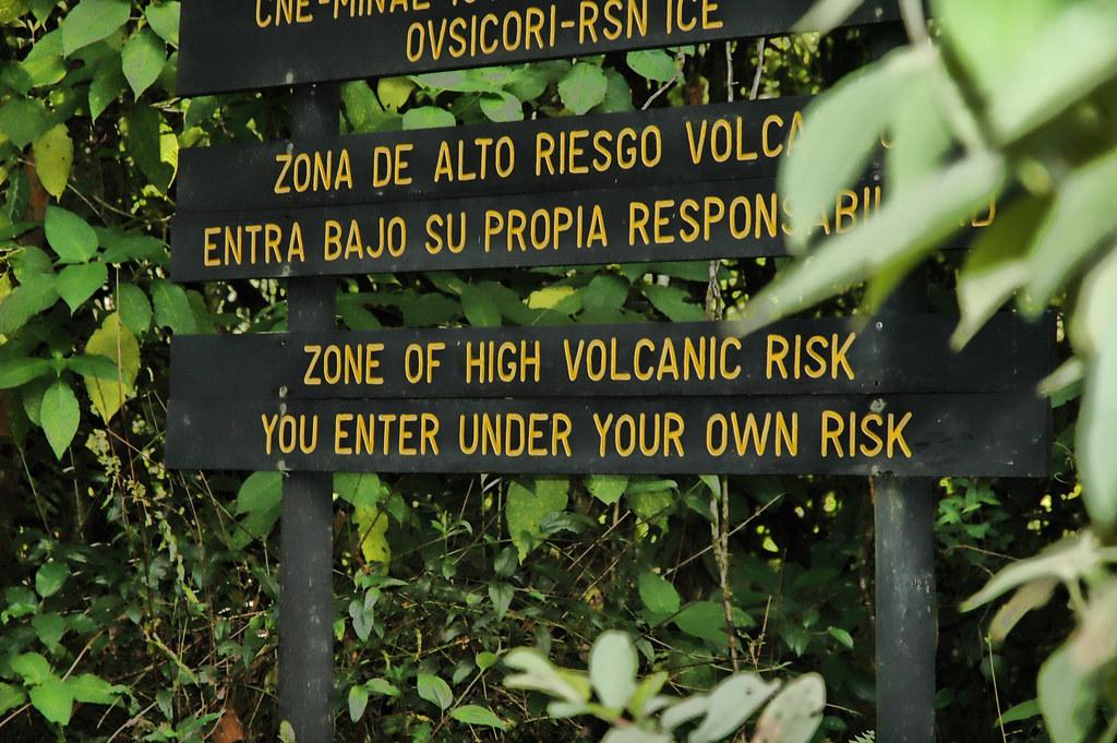 High Volcanic Risk