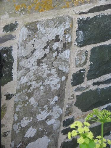 Wyneb, Eglwys S. Gwyndaf, Llanwnda