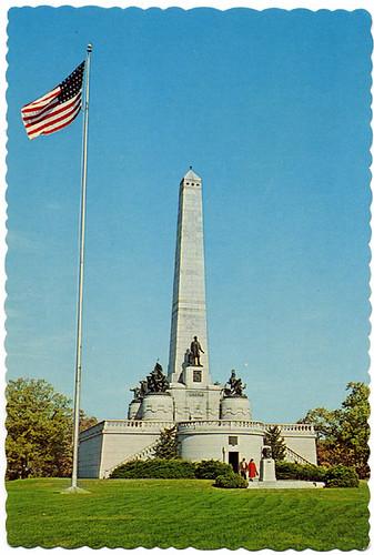 Postcard: Lincoln's Tomb ca. 1970