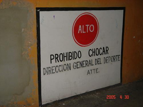 Prohibido Chocar