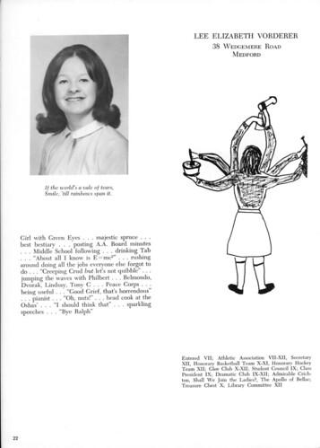 Lee Vorderer - Yearbook Page