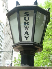 Subway Sign, Again