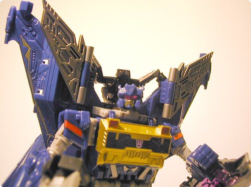 Cybertron Soundwave and Laserbeak