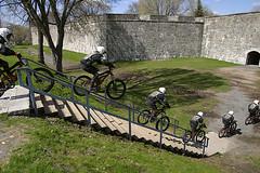 Extreme bike Jump