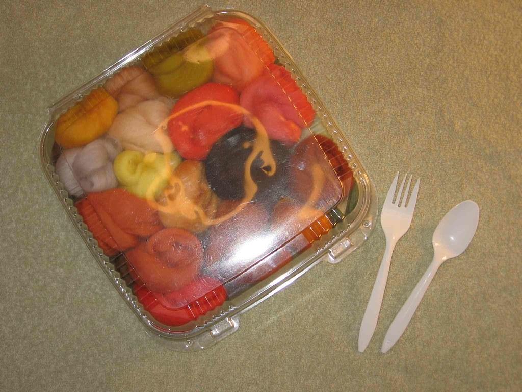Merino roving snack pack